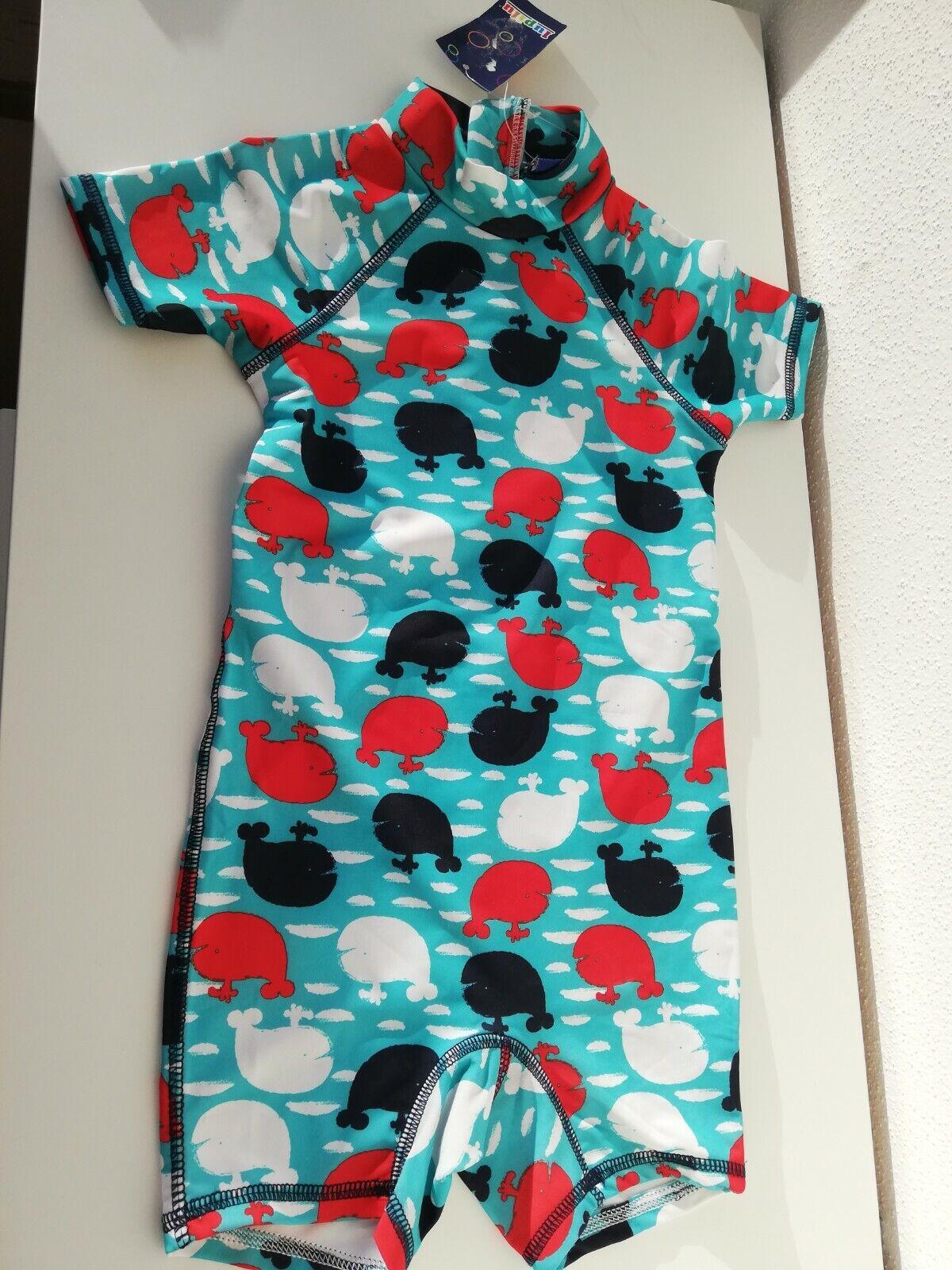 Jungen UV-Set UV-Schutz-Anzug Badekleidung UV-Schutz 50 - Gr 98 104 Lupilu® *Neu