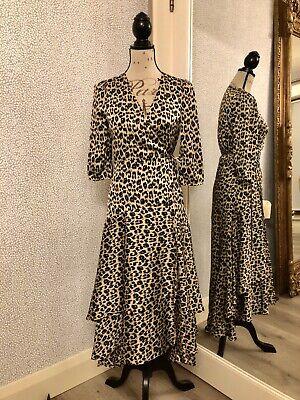 jovonna london Ladies Leopard Print Dress (New With Tags)