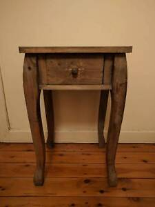 Shabby Chic Wooden Side Table