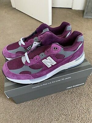 New Balance 992 Maroon/Purple Men's Size 11.5 M992BA BNIB Made In USA
