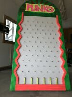 Plinko board for rent $75. Great for socials/corporate events
