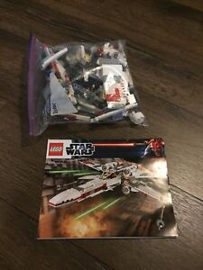 Lego Star Wars 9493 X wing fighter complete