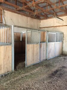 Horse s We have 3 horse stalls for sale