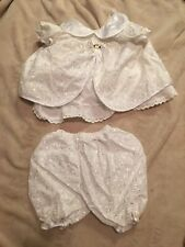 2 Piece 9 To 12 Months Size Baby Girl Child Baptism ...