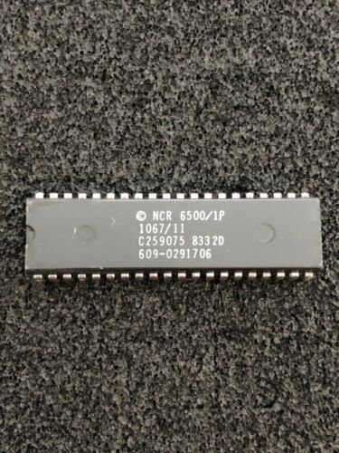 6500/1 CPU COMMODORE USE IN AMIGA KB & 1520 PLOTTER NMOS NCR NOS -a 6502 variant