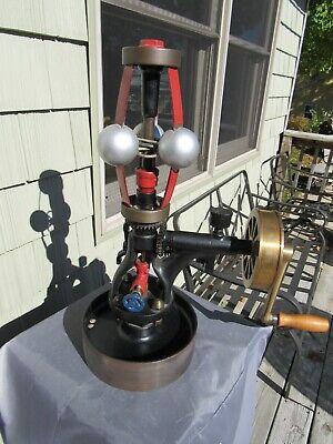 Vintage Original 1907 Steam Engine Pickering Governor 1896 H.k. Stall 50lbs