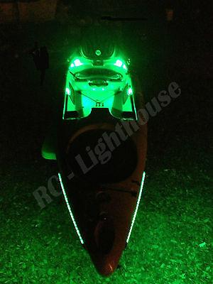 Boat LED Lights for Kayak, Canoe, Fishing Bass Boats Waterproof LED Lights 8' ft