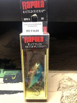 "Rapala Rattlin Fat Rap RFR-5 FT 2/"" 7//16oz Bleeding Fire Tiger NOS Rare Ireland"