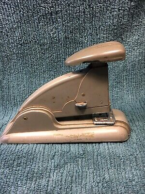 Vintage Swingline Speed Stapler 3 Made In Usa Mid Century Modern Grey