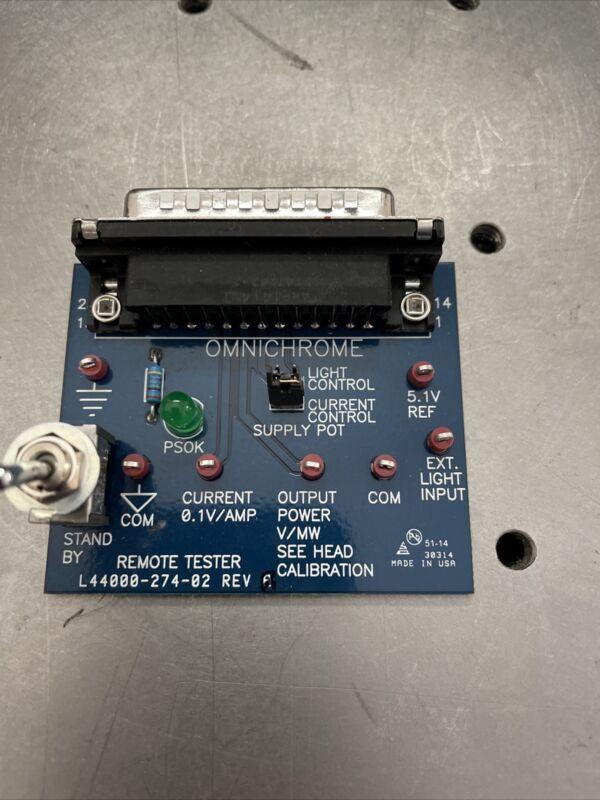 Melles Griot Omnichrome Remote Tester PCB Board