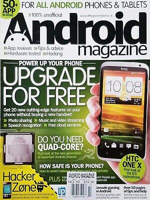 Android Magazine - ANDROID MAGAZINE, UPGRADE FOR FREE    20 CUTTING-EDGE WAYS...    NO.10^