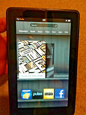 Amazon Kindle Fire 1st Generation D01400 WiFi 7 Inch 8GB Tablet , Good condition