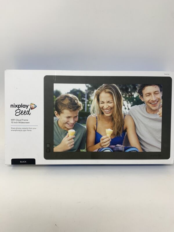 Nixplay Seed 10 Inch Digital WiFi Picture Frame -  NEW OPEN BOX