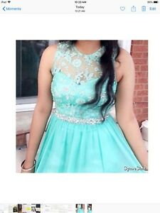 BEAUTIFUL PROM AND OR GRAD DRESS FOR $100