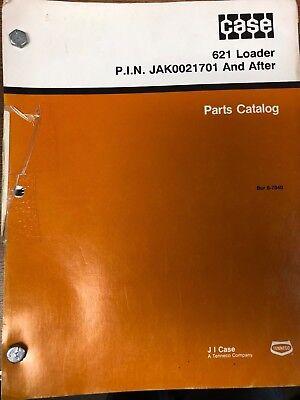 Case 621 Loader Parts Catalog