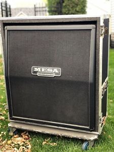 Mesa Boogie 4 x 12 Guitar Cabinet with Road Case