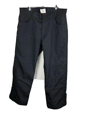 Joe Rocket Rocket Jeans Mens Black Nylon Motorcycle Pants Size 36