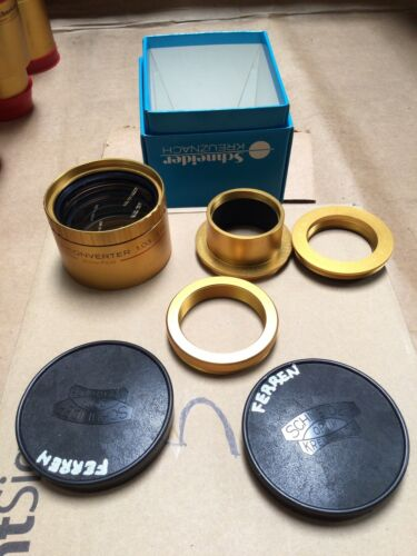 Schneider Kreuznach Cine Xenon Converter Lens 1.03…1.11x 35mm Free Shipping