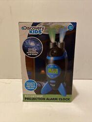 NIB Discovery Kids Projection Rocketship Alarm Clock celestial galaxy astronaut
