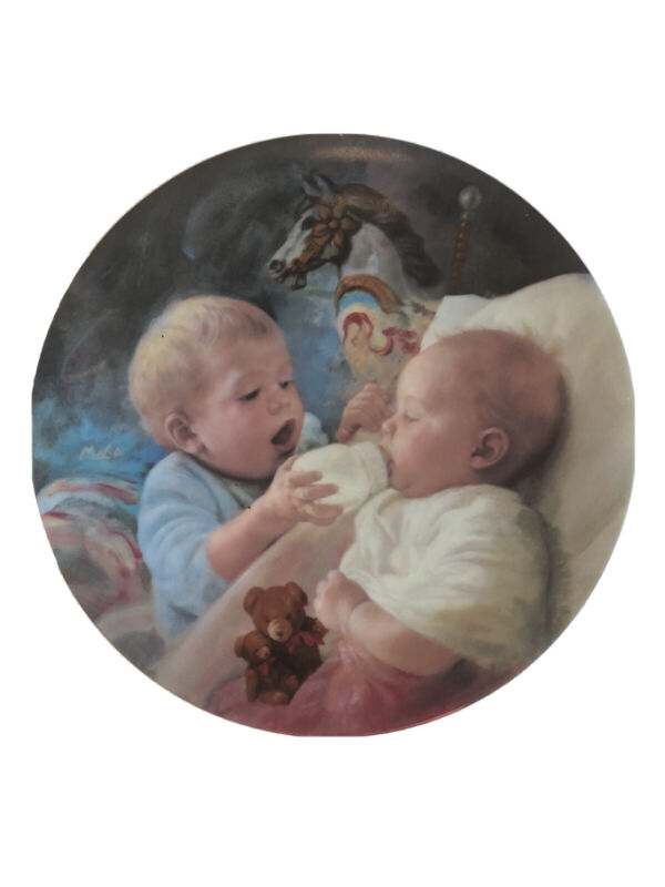 Artaffects MaGo Collector Plate Christopher and Kate Studies of Early Childhood