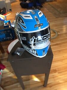 Icon Motorcycle /go kart helmet : New , a steal !!
