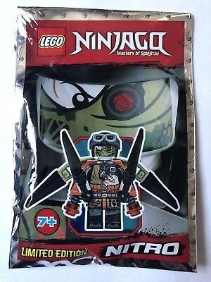 Lego Ninjago Nitro Mini Figure Polybag