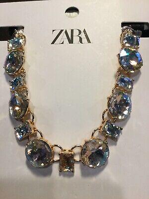 Zara Rhinestone Choker Style Necklace