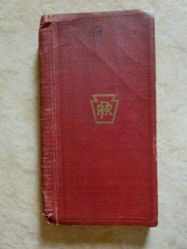1940 PENNSYLVANIA RAILROAD COMPANY MANUAL ON FREIGHT RATE CONSTRUCTION-RARE