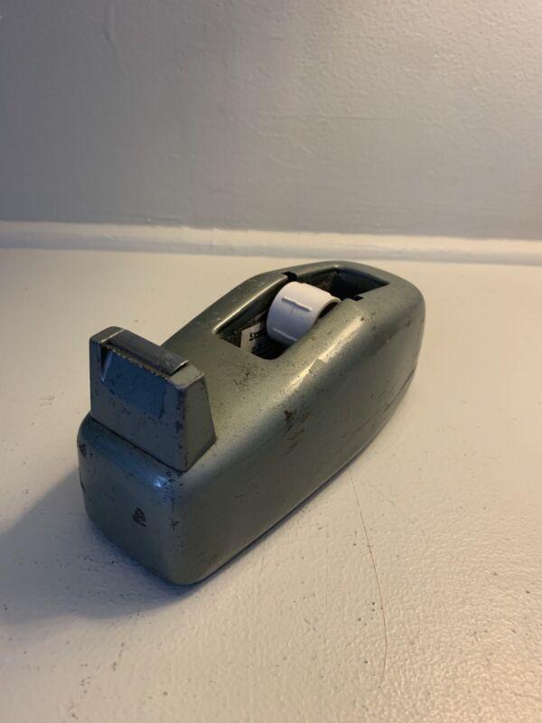 Vintage industrial military green Scotch tape dispenser model C-20