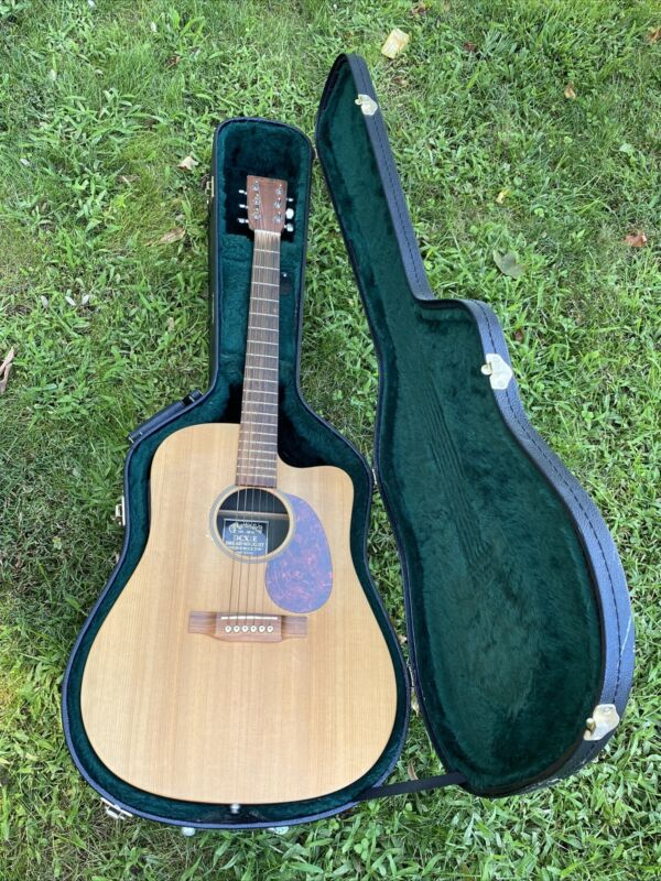 Martin DC-X1E Dreadnought Acoustic-Electric Guitar with Guitar Case
