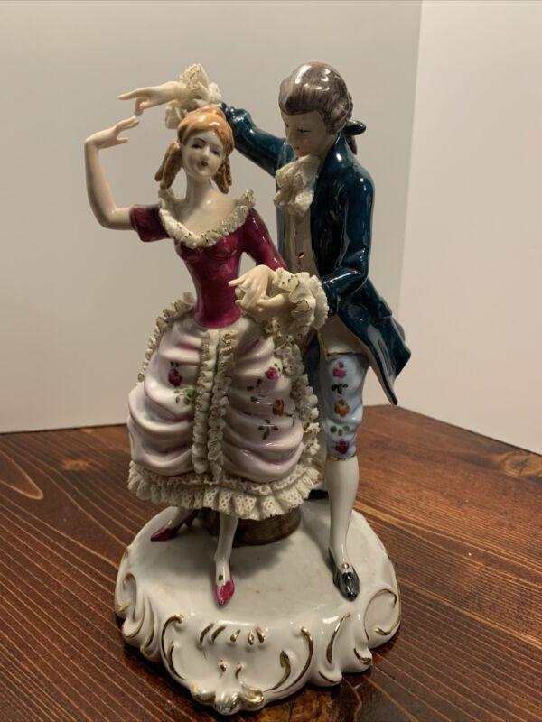 Pocelain Couple Dancing
