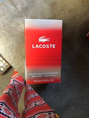 Lacoste Red Style In Play by Lacoste EDT Spray 2.5 oz New in Box