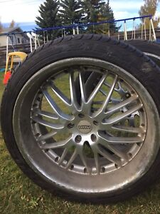 For sale set of 4 Tires and Rims