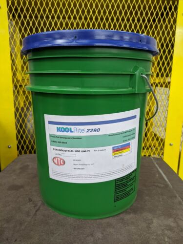 Koolrite Coolant 2290 Metal Working Fluid, Semi Synthetic 5 Pail