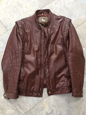 Men's Vintage Leather Jacket M