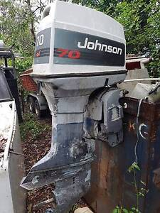 EVINRUDE JOHNSON OMC 60HP 70HP OUTBOARD FOR WRECKING Brisbane City Brisbane North West Preview
