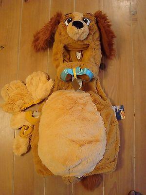 Dog Costume Store (New Disney Store LADY Dog Lady & the Tramp Infant Costume 12-18)