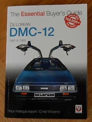 DeLorean Buyers Guide. The Essential DeLorean Buyers Guide New With Free Postage
