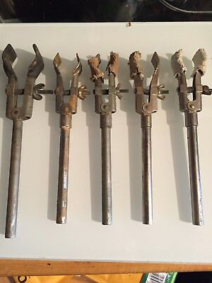 Lot Of 5 Vintage Fisher Castaloy Lab Clampsnice