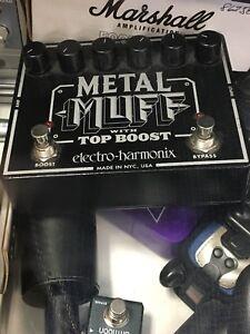 Pedal a effet pour guitare électrique Métal Muff
