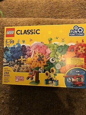 LEGO Classic Bricks and Gears 10712 Building Kit (244 Pieces) BNIB! - Lego Gear Set