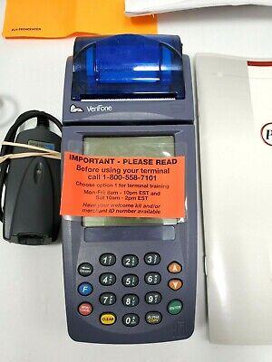 Verifone Nurit 8020 9-10 Vdc 1 A Credit Card Terminal