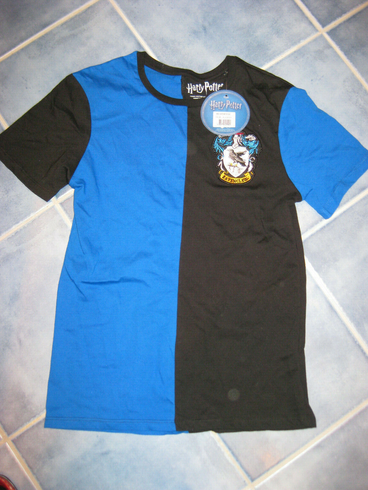 Harry Potter T-shirt Ravenclaw Quidditch Team Men's Blue M