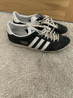 Adidas Gazelle Black White Original Size 8.5 UK