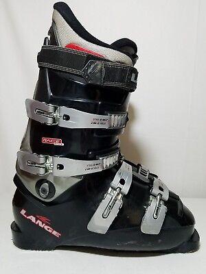Lange Race Fit Steel C 60 T Mens Black Ski Boots Size 8 305mm