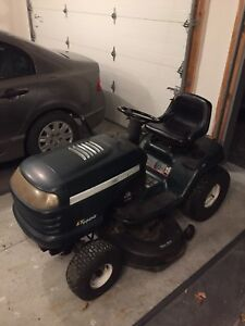 Craftsman Lawn mower tractor with twin bagger