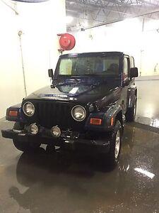 2002 Jeep TJ Sport 2500$ OBO