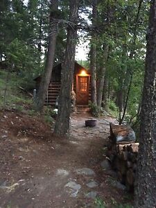 Rustic cabin for rent on very private Monroe lake.
