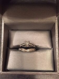 PRICE REDUCED! Engagement and Wedding Band Ring Set