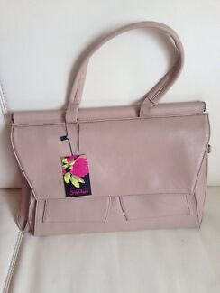 Italian Handbag soft leather Sassy Duck Beige RRP $600 BRAND NEW Paddington Brisbane North West Preview